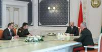 Lukashenko holds meeting to discuss situation on Belarusian border